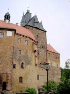 Torhaus von Burg Kriebstein