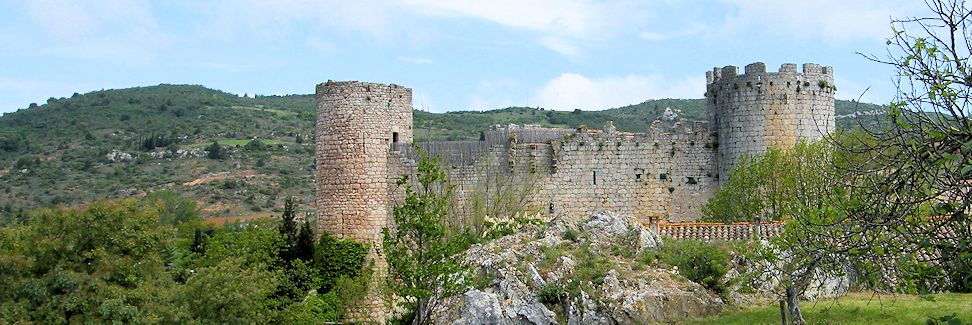Aussenansicht Château Villerouge-Termenès