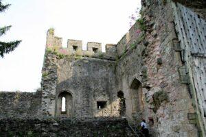 Turmfragment und oberer Schildwall