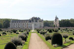 Chenonceau - der Garten der Diane de Poitiers