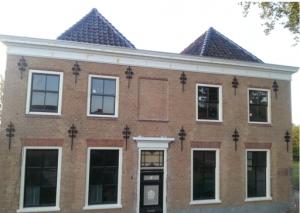 Das Haus an der Schleuse, in dem Wilhelmina festgehalten wurde.
