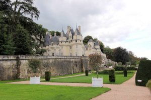 Château d'Ussé (Loire), Blick aus dem Park