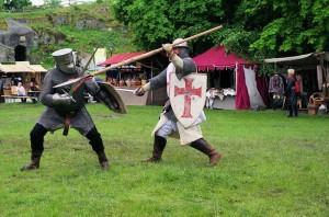Lagerleben und Ritterkampf mit Panem Cotidianum