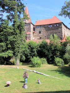 Blick auf das Wenzelschloss, Lauf a.d. Pegnitz