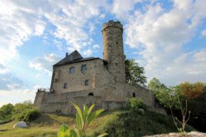 Burg Greifenstein in Thüringen, Palas und Bergfried