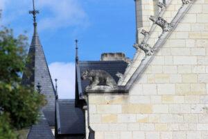 Burg Chinon, Detail