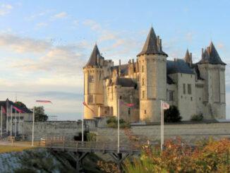 Château de Saumur, Maine-et-Loire (Frankreich)