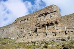 Lindisfarne Castle in Nordengland