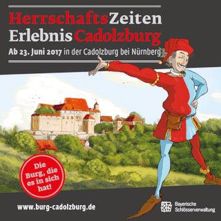Banner Start Ausstellung Cadolzburg