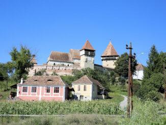 Kirchenburg Alma Vii (deutsch Almen, ungarisch Szászalmád), Rumänien