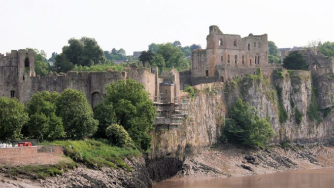 Chepstow Castle, Wales / Great Britain