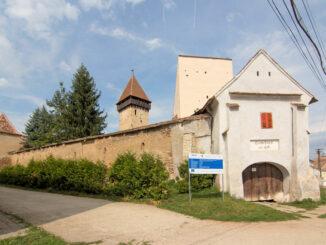 Kirchenburg Aţel (deutsch Hetzeldorf, ungarisch Ecel), Rumänien