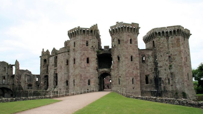 Raglan Castle, Wales / Great Britain