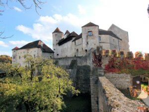 Burg zu Burghausen, Oberburg
