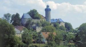 Seitenansicht Burg Zwernitz (Bayern)