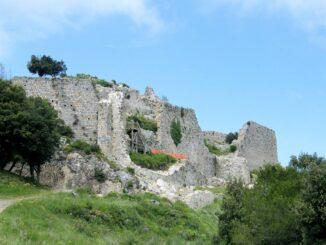 Château de Termes, eine der Kathrerburgen in Südfrankreich