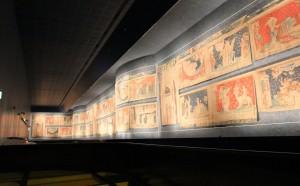 Beeindruckende Wandteppiche mit Motiven der Apokalypse