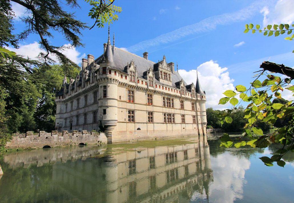 Schloss Azay-le-Rideau (Frankreich)