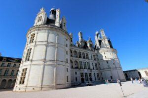 Chambord, Haupteingang zum Schloss