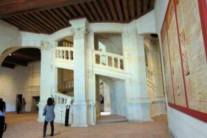 Doppelte Treppe im Schloss Chambord