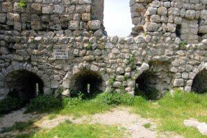 Burg Aguilar, Details der Bastion