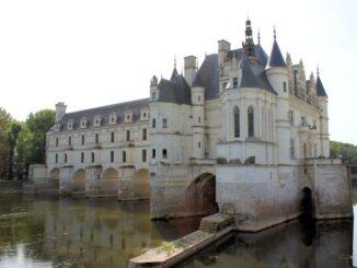 Château de Chenonceau - schöne Seitenansicht