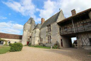 Château Chémery, Innenansicht