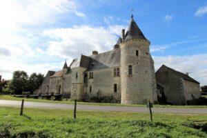 Château Chémery im Loiregebiet, Frankreich