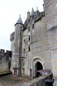 Das Torhaus, vom Innenhof aus gesehen