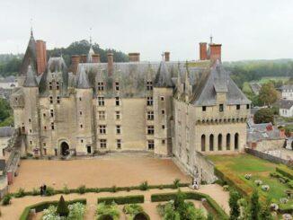 Château Langeais im Département Indre-et-Loire (Frankreich