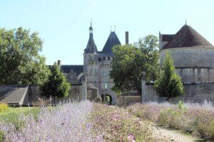 Château de Talcy, Aufnahme vom Garten aus