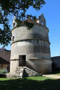 Taubenturm im Schloss Talcy, Loire