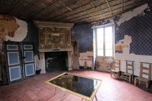 Blauer Salon, Château de Selles sur Cher, Loire