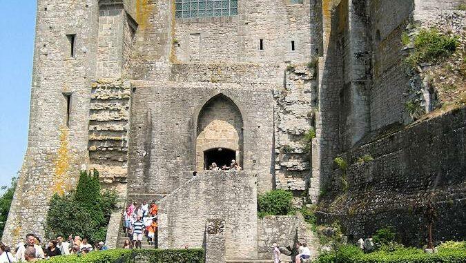 Le Mont Saint Michel, Innenansicht