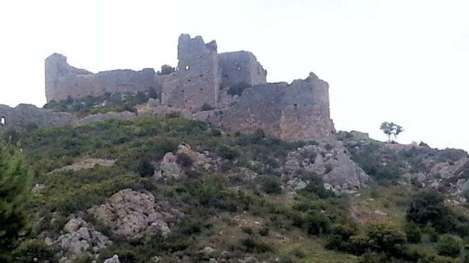 Chateau d'Aguilar, im Land der Katharer