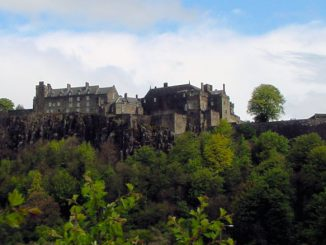 Stirling Castle, Schottland - Seitenansicht total
