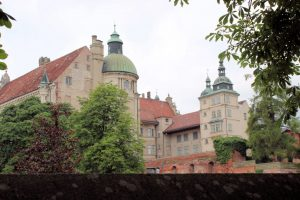 Rückansicht von Schloss Güstrow (Mecklenburg-Vorpommern)