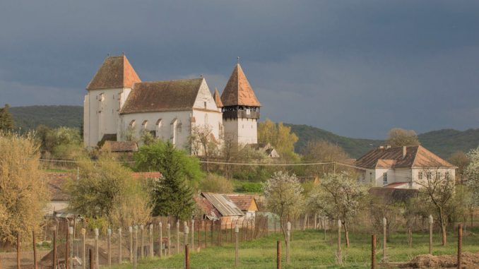 Kirchenburg Bazna (deutsch Baassen, ungarisch Bázna), Rumänien