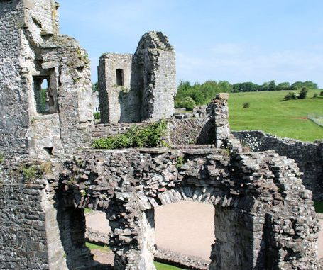 Coity Castle, Wales / Great Britain