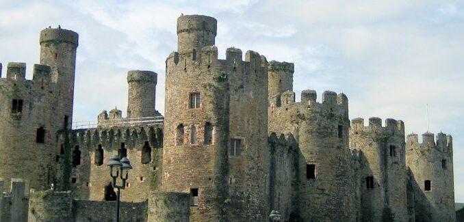 Conwy Castle, Wales / Great Britain