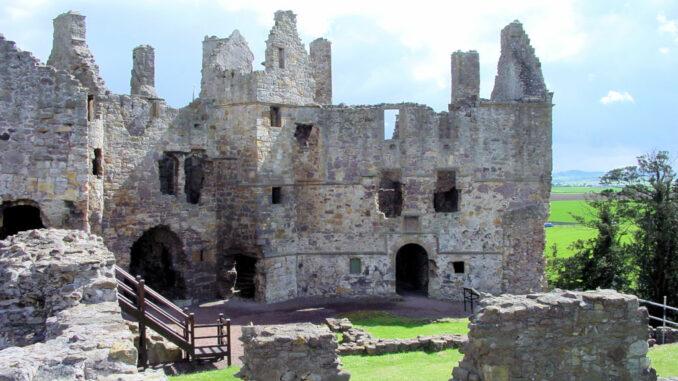 Dirleton Castle, Schottland