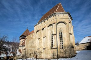 Kirchenburg Copșa Mare (deutsch Großkopisch, ungarisch Nagykapus, siebenbürgisch-sächsisch Grisskopesch)