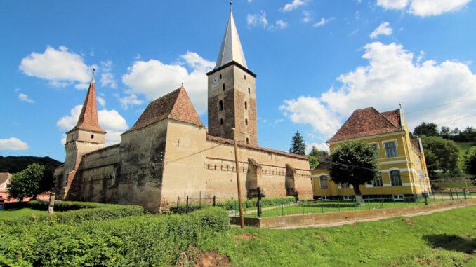 Kirchenburg Moșna (deutsch Meschen, siebenbürgisch-sächsisch Mäschen, ungarisch Muzsna oder Szászmuzsna) , Rumänien