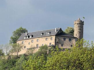 Burg Greifenstein, Thüringen - Panorama