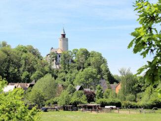 Burg Posterstein, Thüringen - Panorama