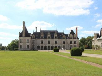 Château de Beauregard, Region Loire (Frankreich); Eingang