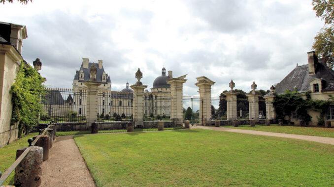 Chateau-Valencay_5989_Eingangsbereich