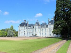 Chateau de Cheverny, Blick auf den Haupteingang