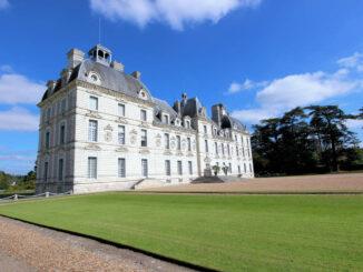 Chateau de Cheverny, Region Loire (Frankreich); Vordereingang