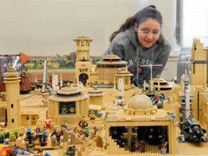 Ausstellung Faszination Lego im Residenzschloss Ludwigsburg